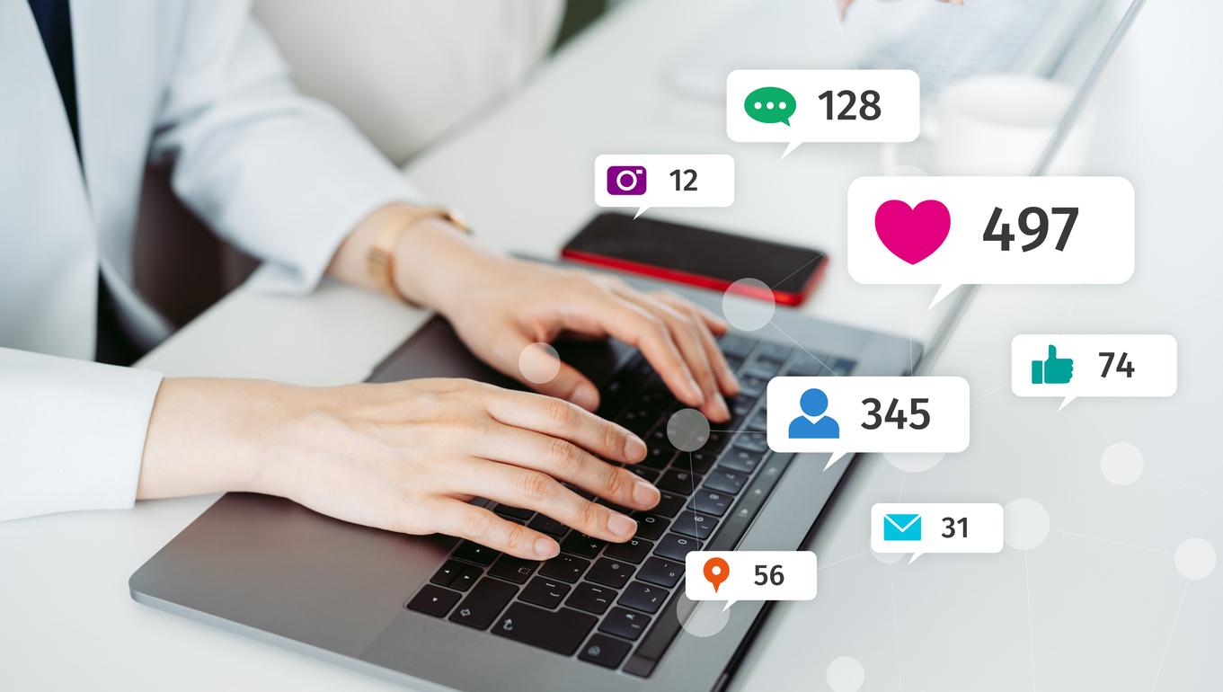 Social Media Management Productivity
